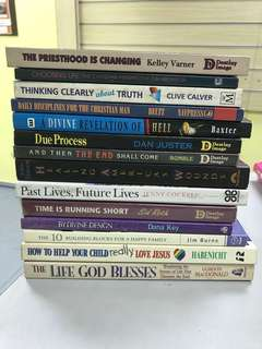 Christian Books - Assorted 1
