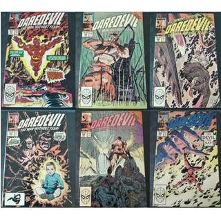 Daredevil #261-#281