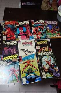 Vintage Daredevil Comics Lot of 10