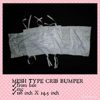 MESH TYPE CRIB LINER/BUMPER