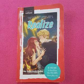Wattpad Book: Realize