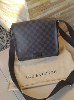Louise Vuitton District PM Messenger Bag