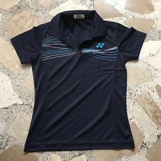 Yonex Dri-fit shirt with collar