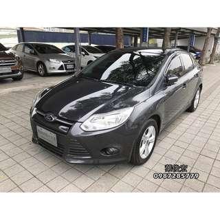 福特原廠認證中古車2013年Ford Focus 1.6 汽油四門 原廠認證