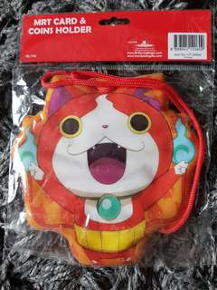 Yo Kai Watch Ezlink card and coins pouch.