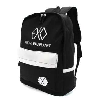 BACKPACK BAG 背包 EXO FROM EXO PLANET