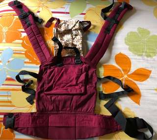 Baby A Baby Carrier in Wine Red