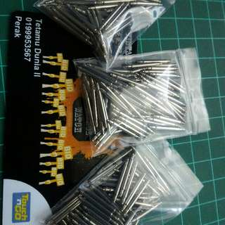 100pcs Spring Bar Gshock 16MM (for dw69,56 dll)