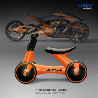Luddy Minibike 2.0 Orange