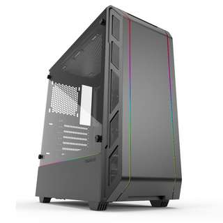 PHANTEKS Eclipse P350X Compact EATX Mid Tower Tempered Glass Digital RGB Black Cases