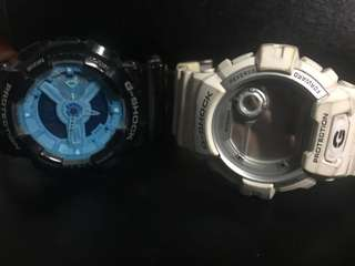 2 pcs G-Shock authentic