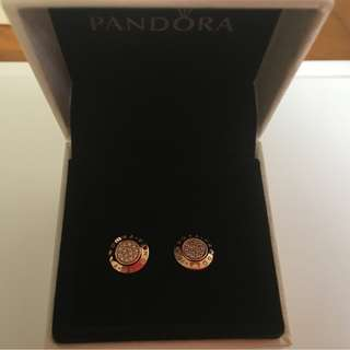 Pandora Rose earrings