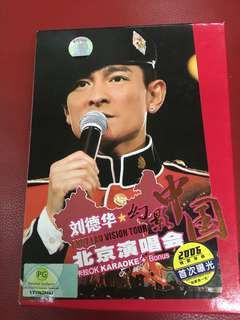 Andy Lau vision tour China concert DVD