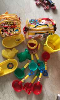 Kids Toys / Beach play toys and tools with free delivery
