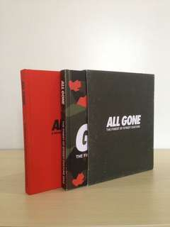 All Gone Book ( buku streetwear ) #mausupreme
