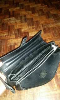 DunHill clutch bag (leather / waterproof )