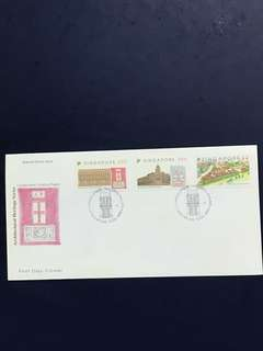 Singapore FDC as In Pictures - Toning