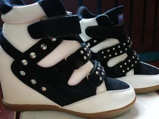 Wedge High Heels (Shoes)