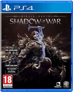 Selling used shadow of war ps4