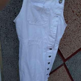 White Dress Jumper