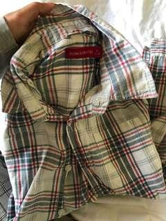 chekered shirt