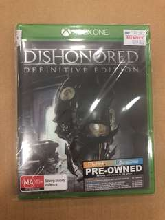 XBOX ONE Dishonored Definitive Edt ( Used )