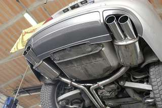 Audi A5 supersprint quad exhaust