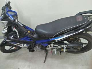 for sale yamaha sniper mx135 2011 model in good condition complete legal papers registered