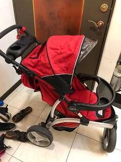 欣康 歐風三輪嬰兒推車