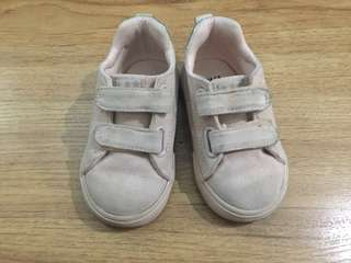 H&M Baby Pink Sneakers Size 22