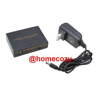 HDMI Audio Extractor, HDMI to HDMI with Optical Toslink Digital Audio + L/R Stereo Analog Audio Output (Brand New)