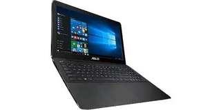 Laptop Asus x555g (windows 10 asli) kredit proses cepat tanpa cc