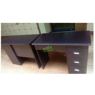 FST-100120P OFFICE TABLE WITH DRAWERS--KHOMI