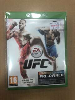 XBOX ONE UFC ( Used )