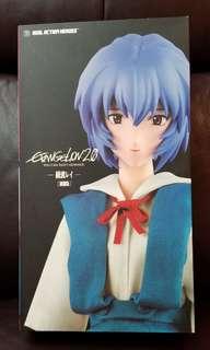 綾波麗 新世紀福音戰士 EVA Real Action Heroes 制服版 Evangelion 2.0 Ayanami Rei 擺設 收藏品 模型 Figure