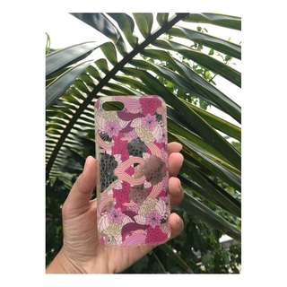 [iPhone Phone Case] Flory Pink iPhone 5 Case
