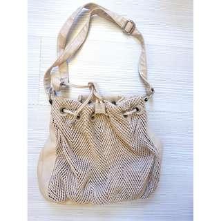 BEIGE sling bag