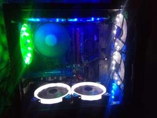 6pcs. 120mm case fan led
