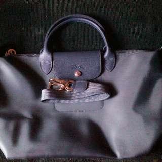 Authentic Longchamp Neo Medium Graphite