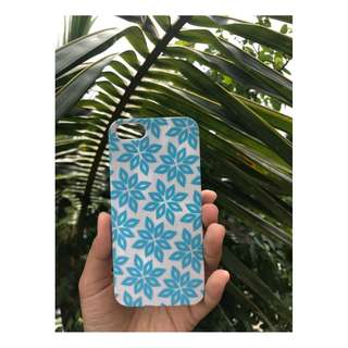 iPhone 5 Phone Case in Flory Blue