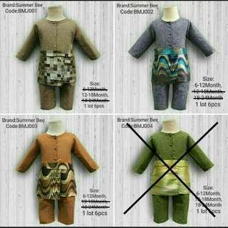 INSTOCK Baju Kurung Romper