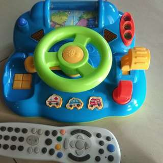 Steering toys