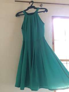 Mint Green Haltered Dress
