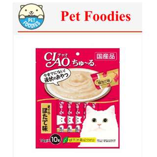 [Pet Foodies] CIAO - CHU RU 14g x 10pcs
