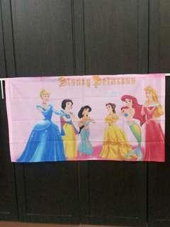 (NEW) Disney Princess Curtain