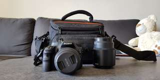 Sony DSLR Alpha a58 with Lenses