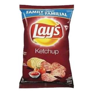 Lays Ketchup 茄汁味薯片255g