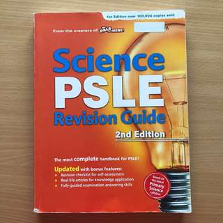 P6 Science : PSLE Revision Guide - 2nd Edition (New)