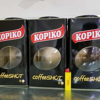 Kopiko candy jar limited edition