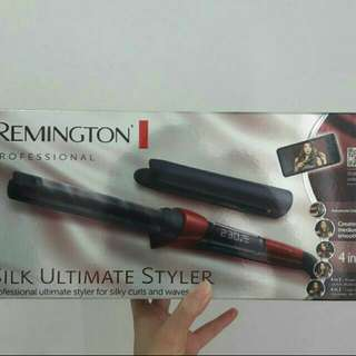 CURLING IRON REMINGTON PROFESSIONAL SILK ULTIMATE STYLER